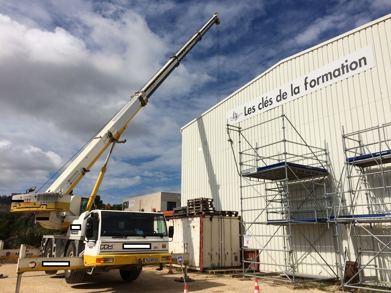 Formation CACES R-383 grue mobile